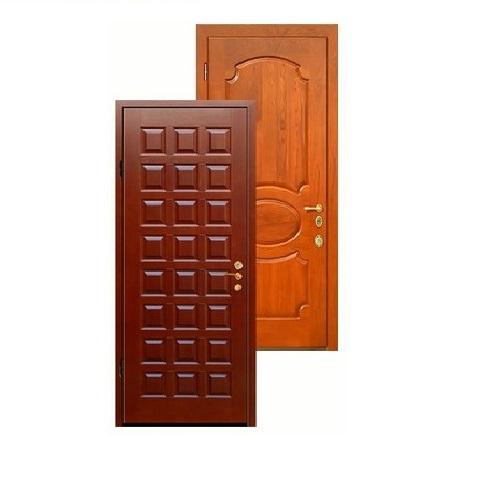 тамбурные металлические двухстворчатые двери со стеклопакетом